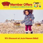 15% Discount at JoJo Maman Bébé!