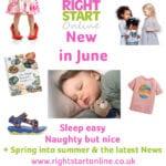 Right Start Online: New in June