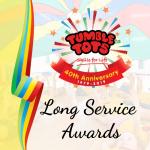 Tumble Tots Franchisee Long Service Awards 2019