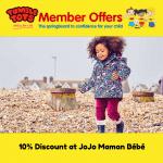 10% Discount at JoJo Maman Bébé!