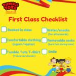 First Class Checklist