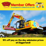 Get 15% off at Diggerland