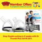 Stop thumb sucking in 2 weeks with Dr Thumb! Plus SAVE 20%