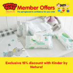 Exclusive 15% discount with Kinder by Nature!