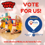 Vote For Us in the What's On 4 Kids Awards 2021!