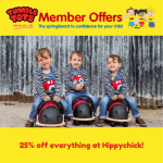25% OFF Hippychick Products!