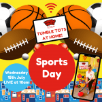 Tumble Tots at Home Sports Day!