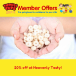 20% off at Heavenly Tasty!