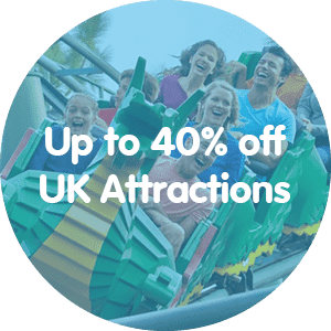 40% off UK Attractions