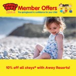 10% OFF Away Resorts!