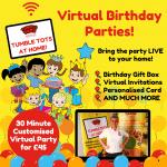 Virtual Birthday Parties!