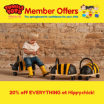 20% off EVERYTHING at Hippychick!