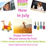 Right Start Online: New in July
