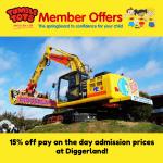 Get 15% off at Diggerland