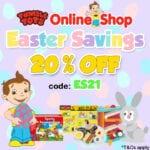 Easter Savings 20% OFF