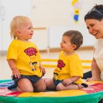 Tumble Tots Children Laughing