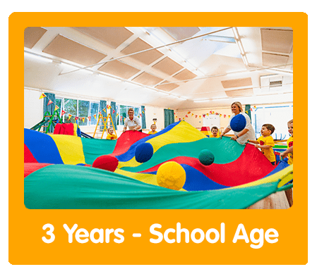Tumble Tots 3 Years - School Age