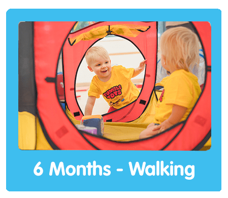 Tumble Tots 6 Months - Walking
