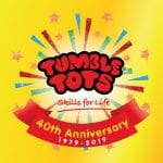 Tumble Tots is 40 this year!