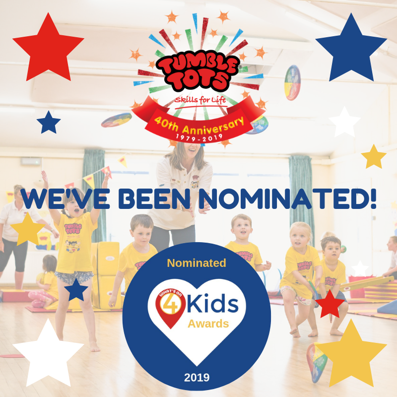 What's on 4 Kids Tumble Tots Nomination