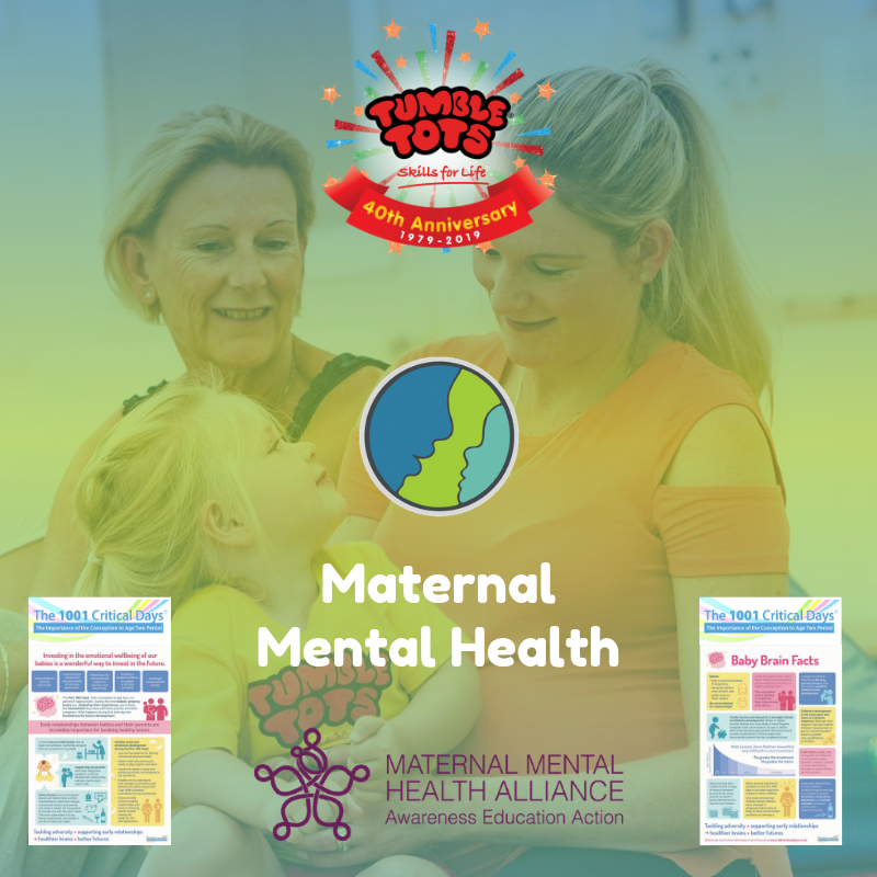 Tumble Tots World Maternal Mental Health Day