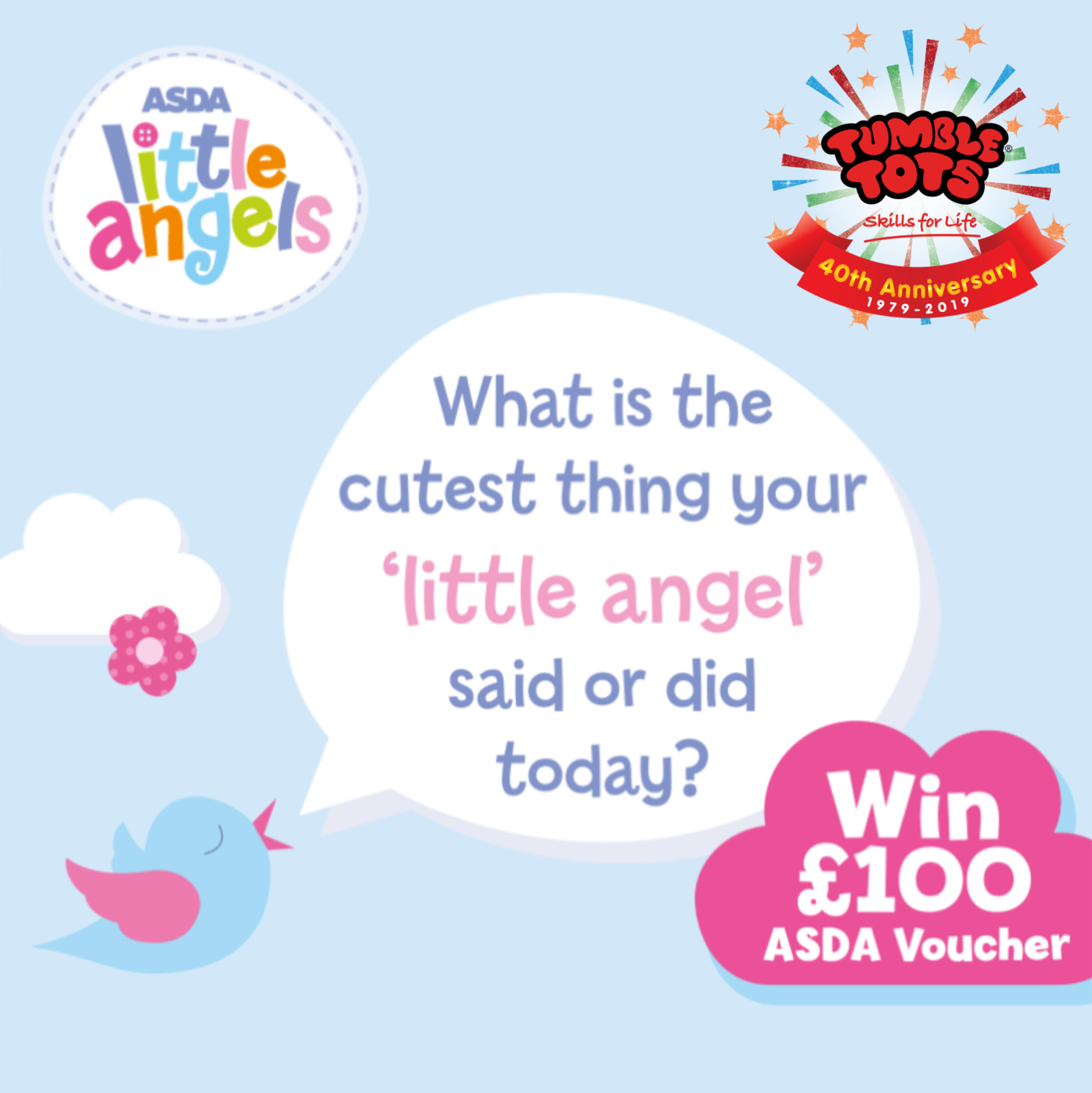 Tumble Tots Asda Little Angels Competition