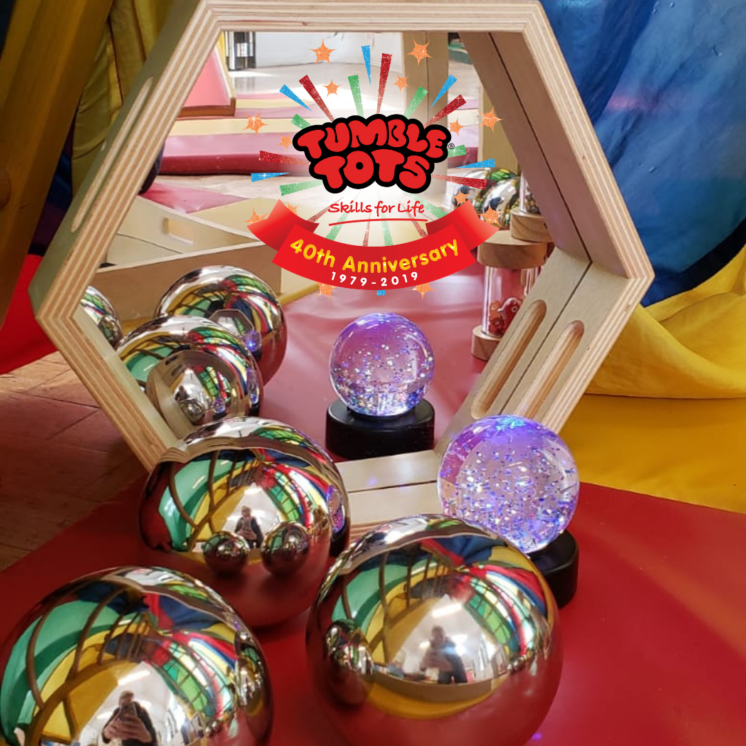 Tumble Tots children's activities sensory Corner Balls