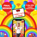 Tumble Tots at Home FINAL Session!