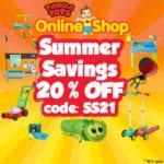 Summer Savings 20% OFF